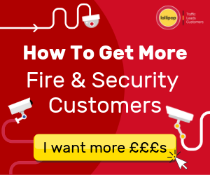 get more fire and security leads