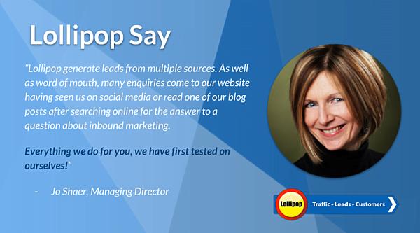 Lollipop Digital Marketing Agency Jo Shaer