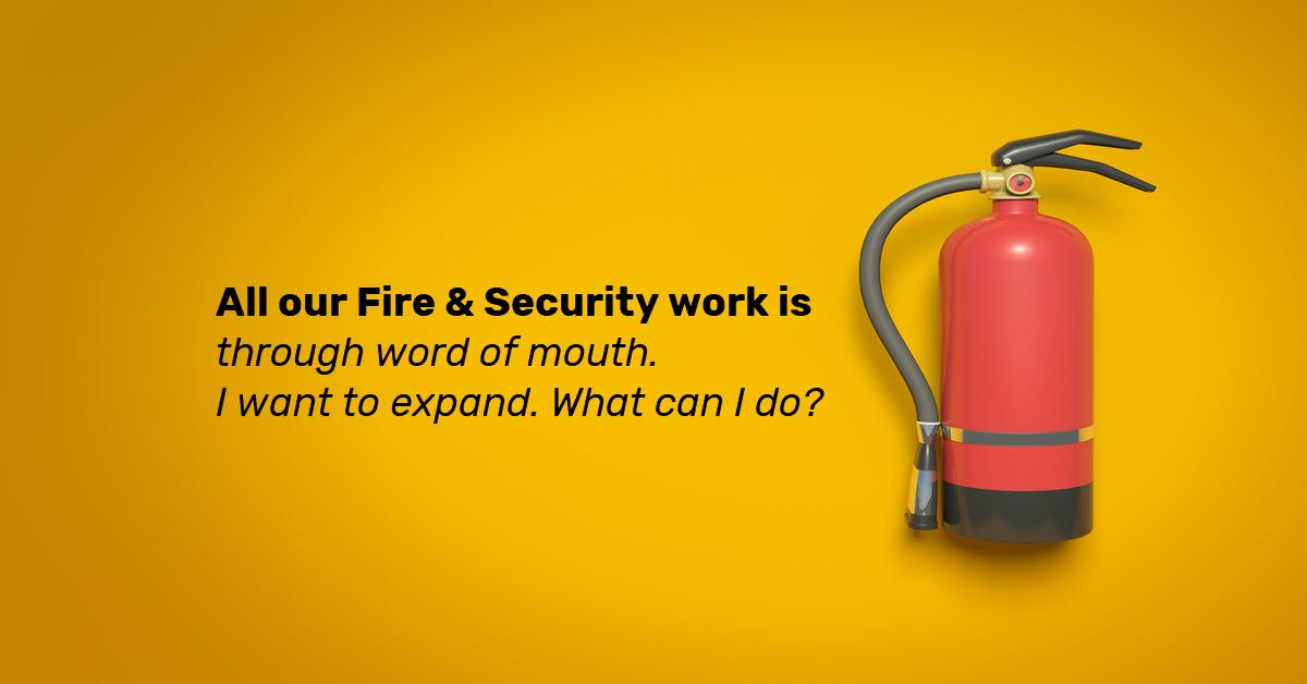How To Get More Traffic To Your Fire & Security Website